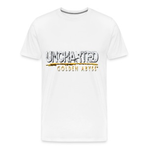 Uncharted: Golden Abyss Logo - Men's Premium T-Shirt