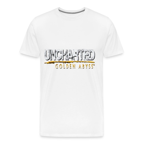 Uncharted: Golden Abyss Logo - Men's Premium T-Shirt