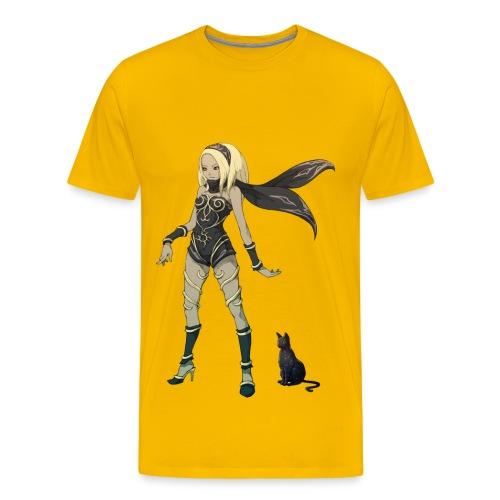 Gravity Rush Kat Yellow - Men's Premium T-Shirt