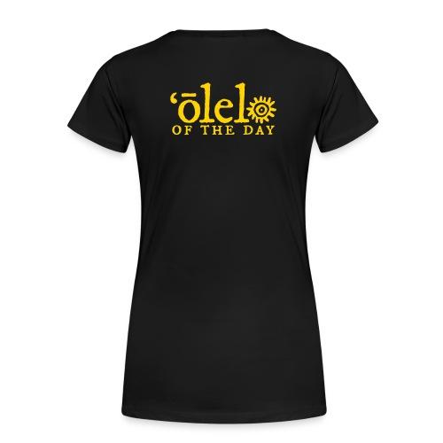 Lanai a Kaululaau - Women's Premium T-Shirt