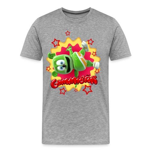 Gummibär (The Gummy Bear) Starburst Men's 3XL & 4XL Shirt - Men's Premium T-Shirt