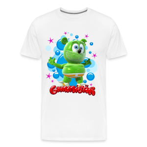 Gummibär (The Gummy Bear) Bubbles Mens 3XL & 4XL T-Shirt - Men's Premium T-Shirt