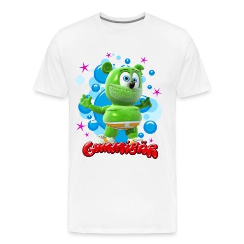 Gummibär (The Gummy Bear) Bubbles Mens 3XL & 4XL T-Shirt - Men's Premium T-Shirt