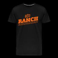 T-Shirts ~ Men's Premium T-Shirt ~ Original Men's T 2 Orange on Black