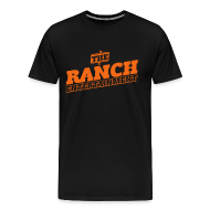 T-Shirts ~ Men's Premium T-Shirt ~ Original Men's T 2 Orange on Black