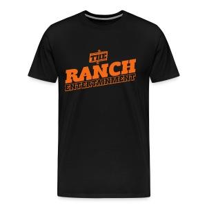 Original Men's T 2 Orange on Black - Men's Premium T-Shirt