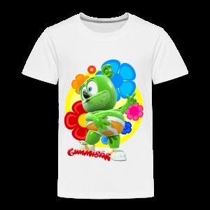 Gummibär (The Gummy Bear) Fun Flowers Toddler T-Shirt - Toddler Premium T-Shirt
