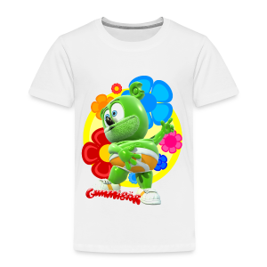 Gummibär (The Gummy Bear) Fun Flowers Toddler T-Shirt - Toddler Premium T-Shirt