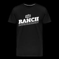 T-Shirts ~ Men's Premium T-Shirt ~ Original Men's T 2 White on Black