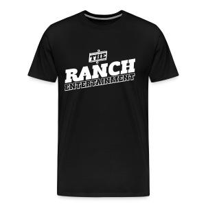 Original Men's T 2 White on Black - Men's Premium T-Shirt