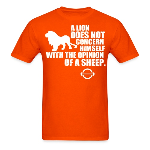 Lion T-Shirt - Men's T-Shirt