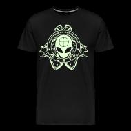 T-Shirts ~ Men's Premium T-Shirt ~ ALIEN CAVE BASE TASK FORCE (Big Boy Size)