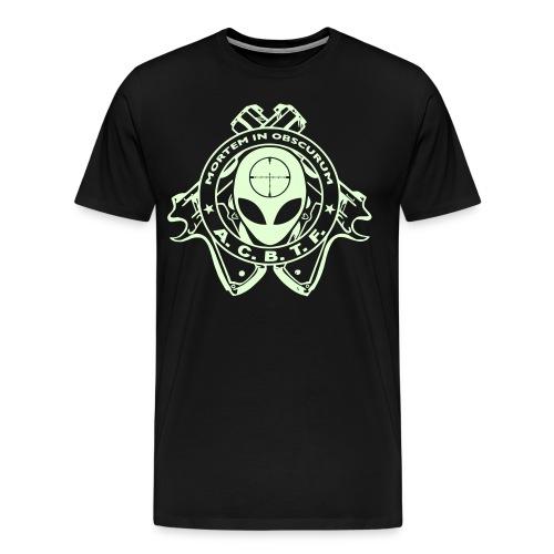 ALIEN CAVE BASE TASK FORCE (Big Boy Size) - Men's Premium T-Shirt