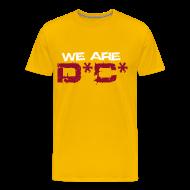 T-Shirts ~ Men's Premium T-Shirt ~ We Are DC Gold Tee
