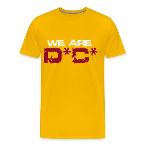 We Are DC Gold Tee - Men's Premium T-Shirt