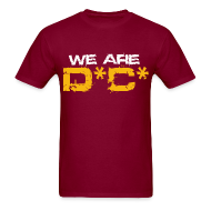 T-Shirts ~ Men's T-Shirt ~ We Are DC Gold Tee