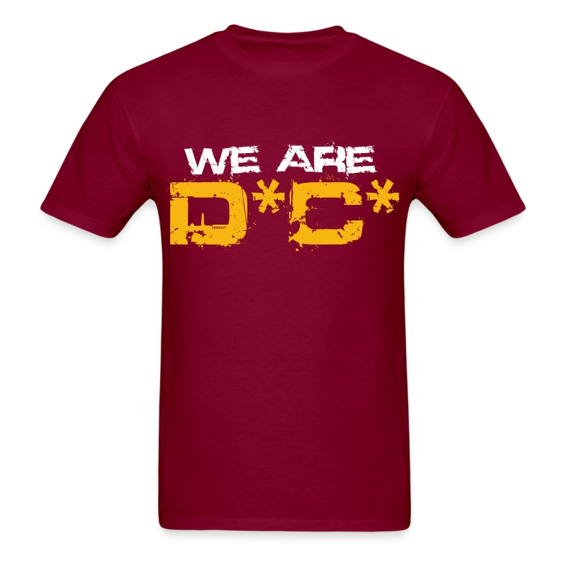 We Are DC Gold Tee - Men's T-Shirt