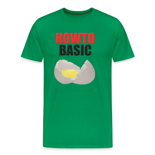 Men's Premium T-Shirt - How to Basic,HowToBasic,YouTube,merchandise
