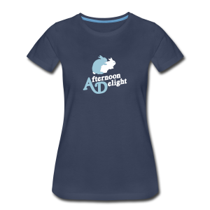 Afternoon Delight Bunnies Womens Tee - Women's Premium T-Shirt
