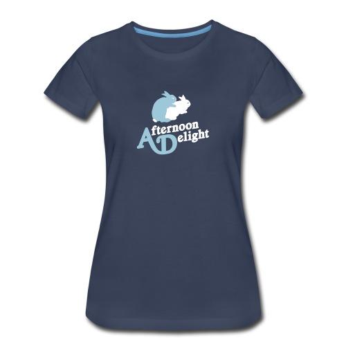 Afternoon Delight Bunnies Womens Tee - Women's Premium T-Shirt