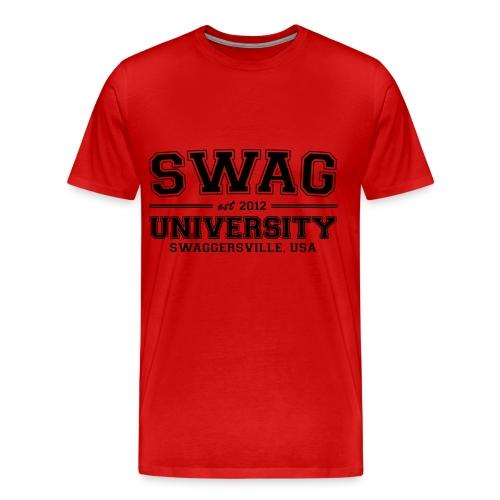 swag university tee - Men's Premium T-Shirt