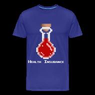 T-Shirts ~ Men's Premium T-Shirt ~ Health Coverage Men's 3XL & 4XL Shirt