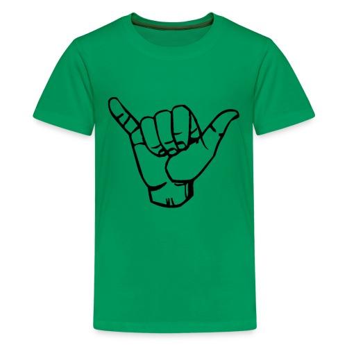Stingrays (on back) - Kids' Premium T-Shirt