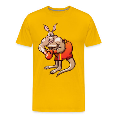 Olympic Boxing Kangaroo T-Shirts