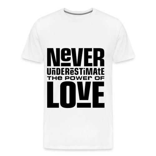 Men's LOVE T'shirt - Men's Premium T-Shirt