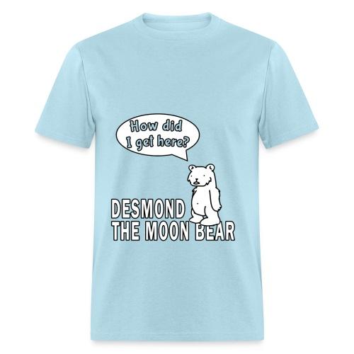 Desmond the Moon Bear - Men's T-Shirt