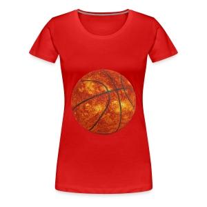 Basketball Sun - Women's Premium T-Shirt