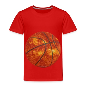 Basketball Sun - Toddler Premium T-Shirt