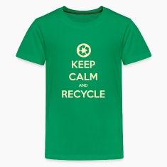 Keep Calm & Recycle Kid's T