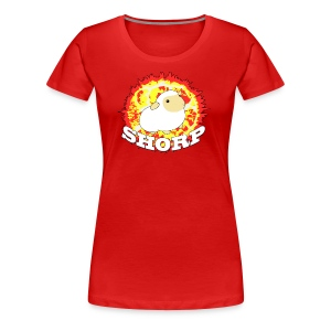SHORP 3X and 4X for girls! - Women's Premium T-Shirt