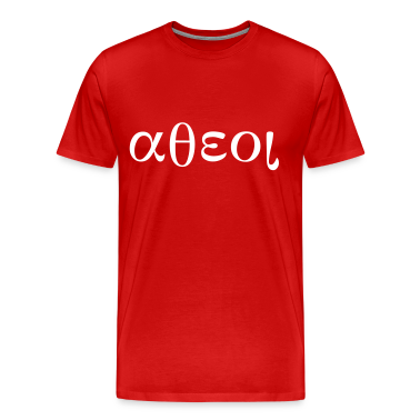 Greek Symbols for Atheist T-Shirts