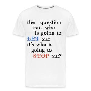 THE QUESTION - Men's Premium T-Shirt