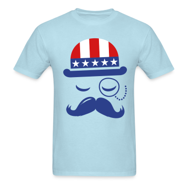 I love American Sir with USA  flag for sports olympics championship pride & election vote America t-shirts T-Shirts