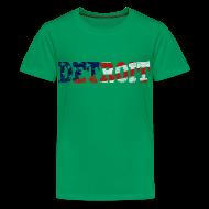 Kids' Shirts ~ Kids' Premium T-Shirt ~ A Detroit Flag