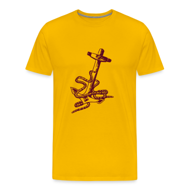 anchor with tow T-Shirts