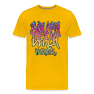 T-Shirts ~ Men's Premium T-Shirt ~ South Beach Graffiti Heavyweight T-Shirt