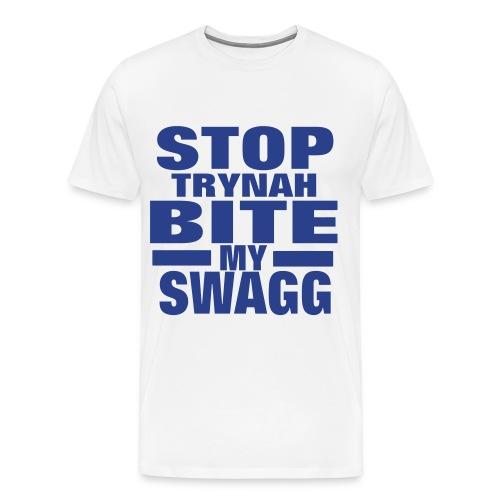 T$$C Stop Trynah Tee - Men's Premium T-Shirt