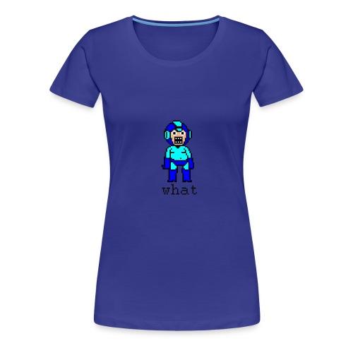 Megaman (Womens) - Women's Premium T-Shirt