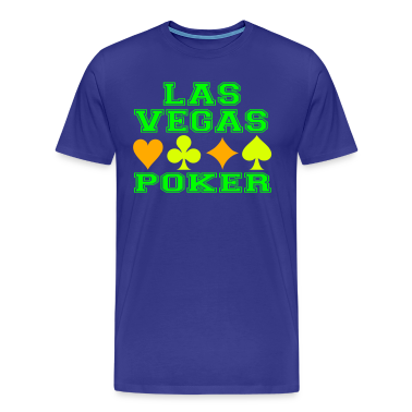 Las Vegas poker cards T-Shirts