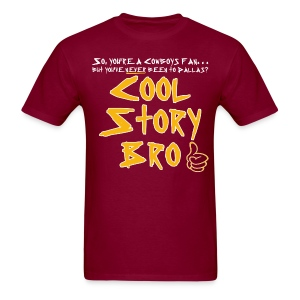 Cool Story Burgundy Tee - Men's T-Shirt