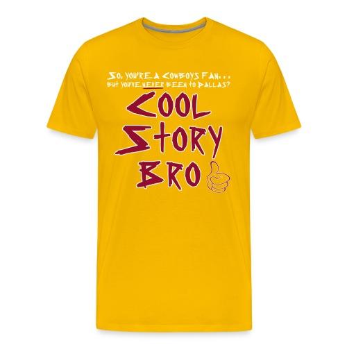 Cool Story Gold - Men's Premium T-Shirt