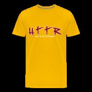 T-Shirts ~ Men's Premium T-Shirt ~ HTTR Gold Tee