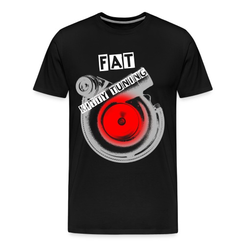 Midwest Stance/Fat Kitty Tuning - Men's Premium T-Shirt