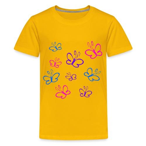 Summer butterlies - Kids' Premium T-Shirt