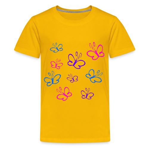 Summer butterlies - Kids' Premium T-Shirt