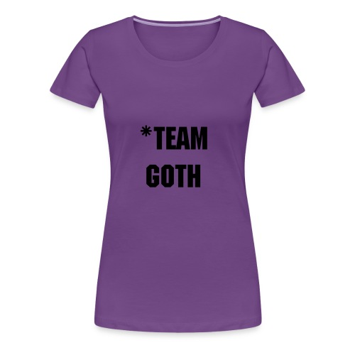 Girl *team goth - Women's Premium T-Shirt